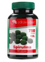 Spirulina 100% přírodní doplněk stravy 750 tablet