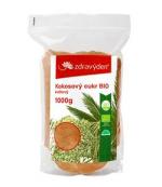 Kokosový cukr 100% BIO nerafinovaný květový 1000g