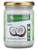 Kokosový olej 100% panenský BIO 450ml