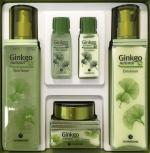 Ginkgo Natural 3 kind set - kazeta přírodní pěstící kosmetiky s ginkgo biloba