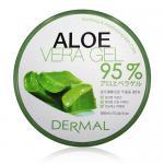 Aloe Vera 95% pleťový gel 3x 300ml - VÝHODNÉ BALENÍ